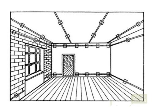 выровнять потолок