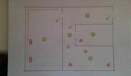 монтажная схема электропроводки квартиры