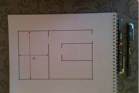 схема электропроводки квартиры
