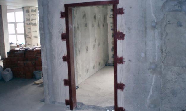 Как делается двернойпроемвкирпичнойстене