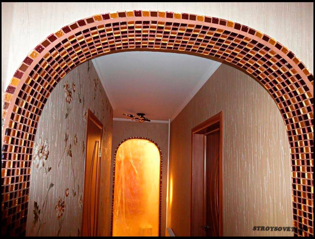 чем отделать арку в дверном проеме