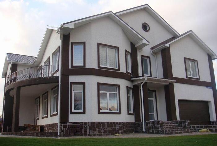 Выбираем материалы для отделки фасадов домов