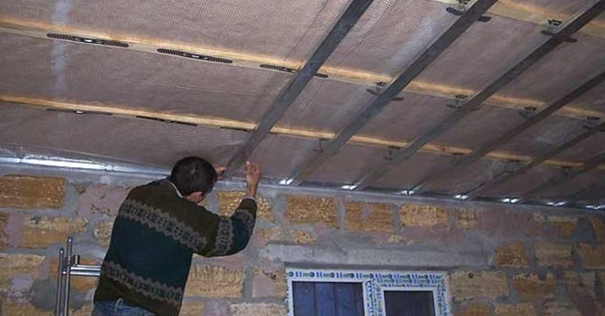 Чем подшить потолок