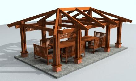 Стропильная система вальмовой крыши – конструкция и узлы.