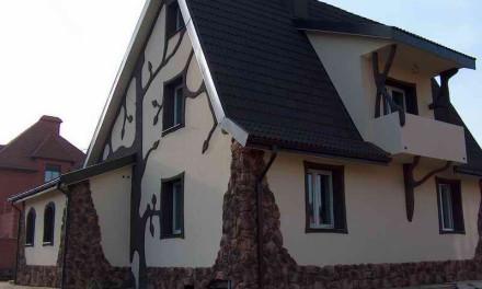 Выбор материалов для отделки фасада дома