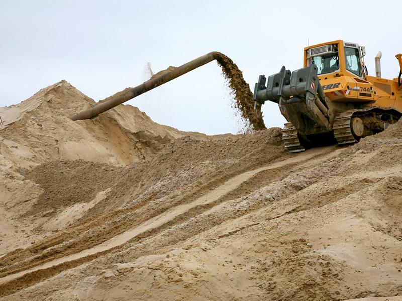 Как добывается строительный песок
