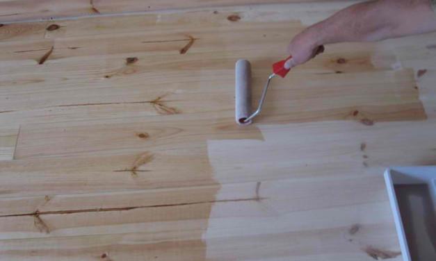 Как покрыть лаком деревянный пол