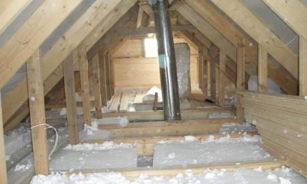 Как правильно утеплить потолок бани