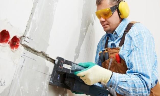 Технология штробления стен