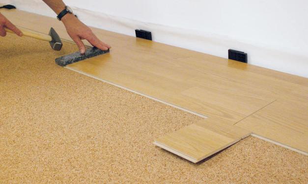 Укладка ламината на деревянный пол – технология работы
