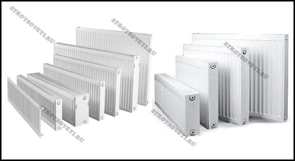 радиаторы отопления виды