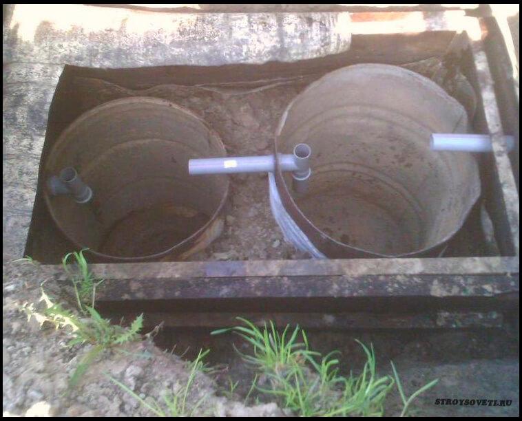 как сделать выгребную яму в частном доме своими руками