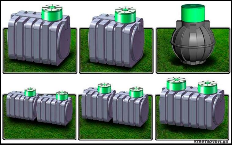 септик танк устройство принцип работы