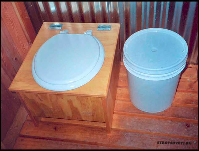 устройство дачного туалета