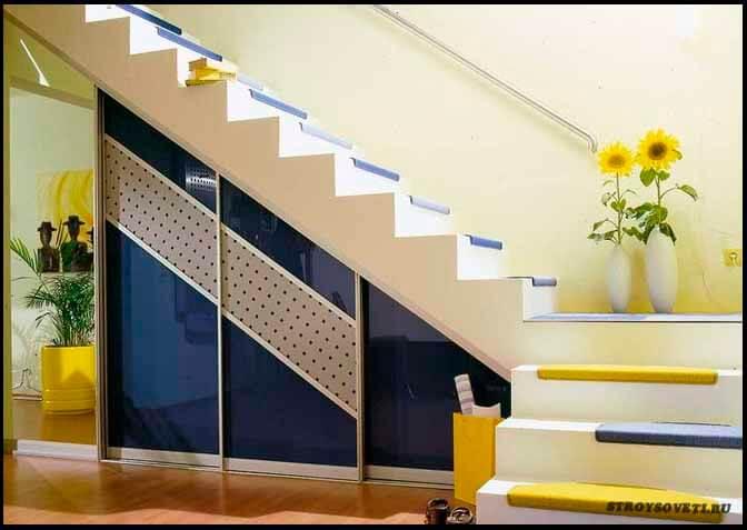 оптимальный угол наклона лестницы на второй этаж
