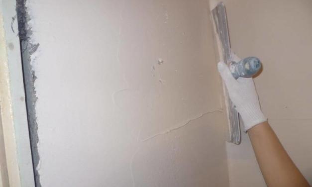 Как выравнивать стены шпаклевкой