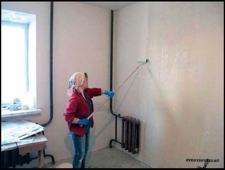 можно ли шпаклевкой выровнять стены