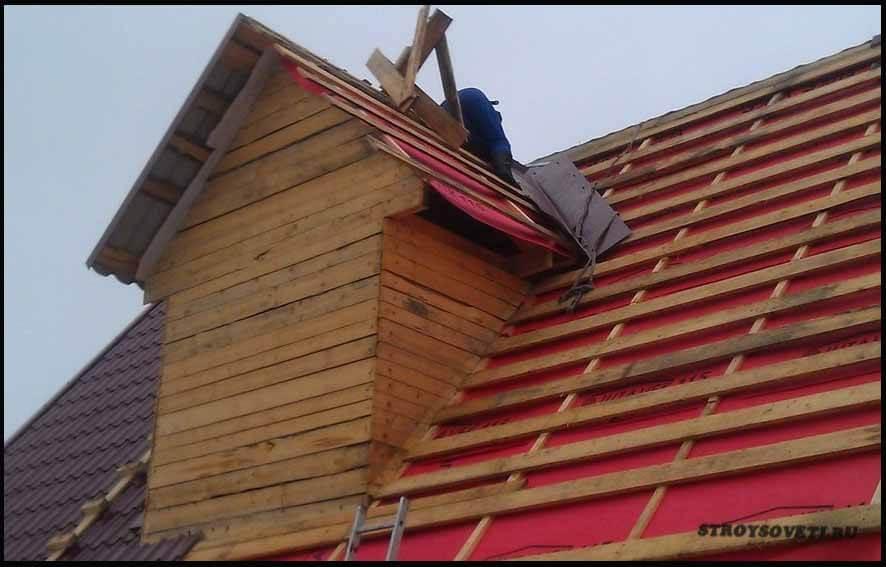 угол крыши для металлочерепицы