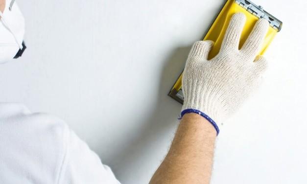 Технология шлифовки стен после шпаклевания