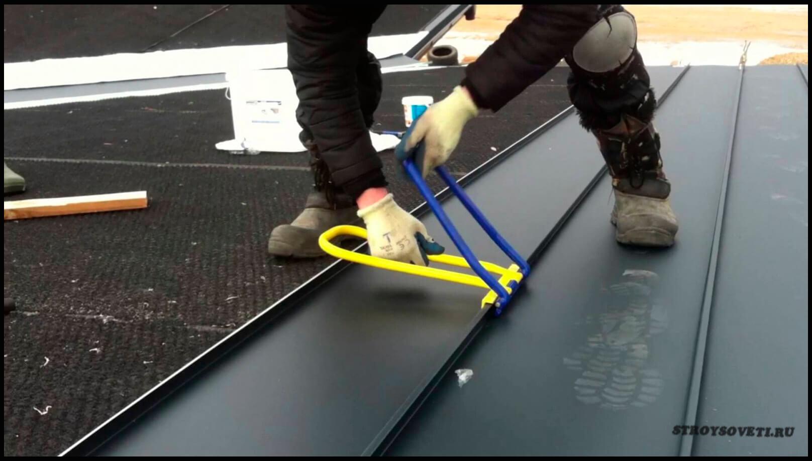 покрытие крыши гаража