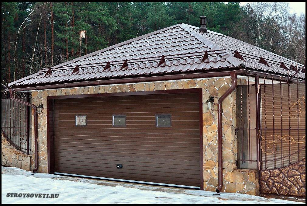 чем лучше покрыть крышу гаража и дешевле