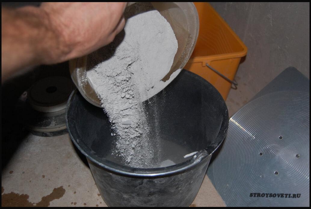 как приготовить шпаклевку для стен