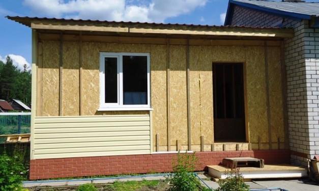 Особенности монтажа крыши на пристройке к дому
