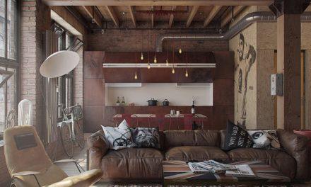 Ремонт квартир в стиле лофт во Владимире