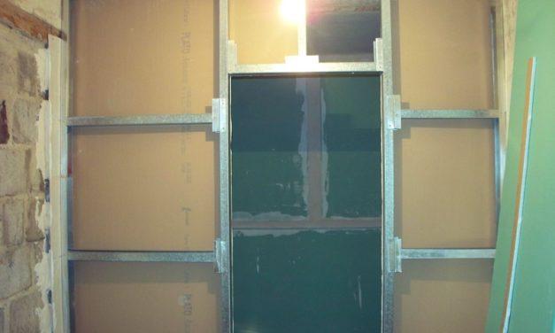 Перегородка из гипсокартона с дверью своими руками
