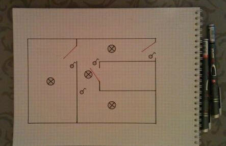 Как правильно составить схему