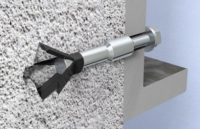 Крепеж для газоблока и пеноблока