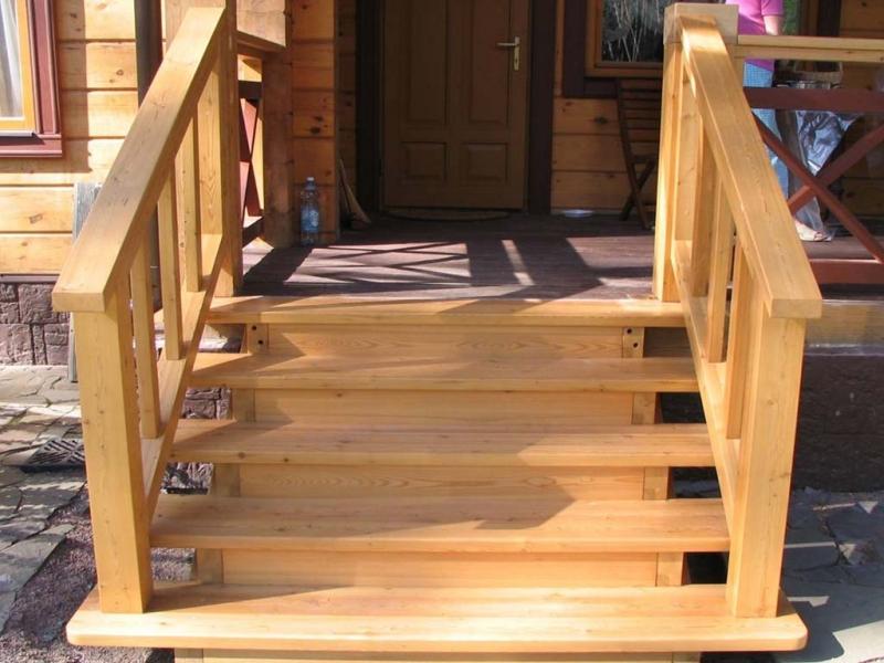 Крыльцо для деревянного дома своими руками