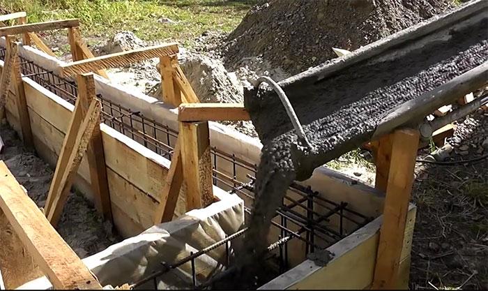 Как сделать бетон для фундамента своими руками пропорции