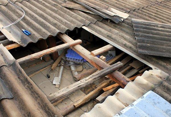 Перекрываем крышу своими руками шифером 170