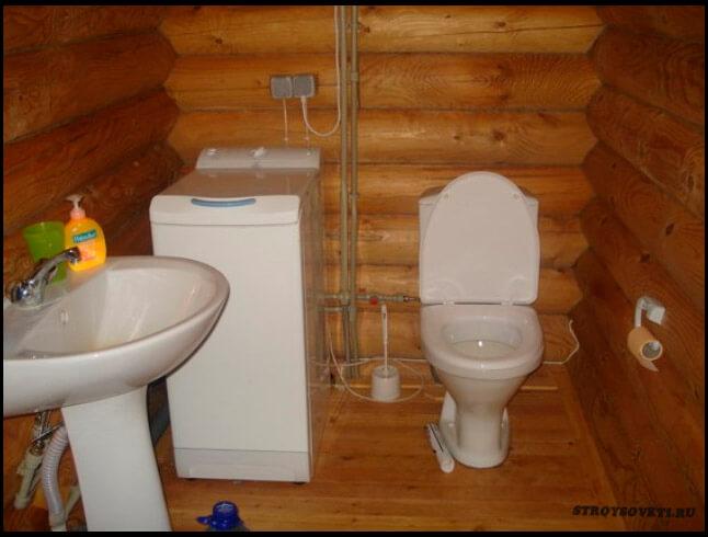 Деревянный туалет в частном доме своими руками фото 11