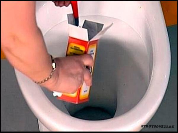 Как почистить унитаз в домашних условиях уксусом и содой